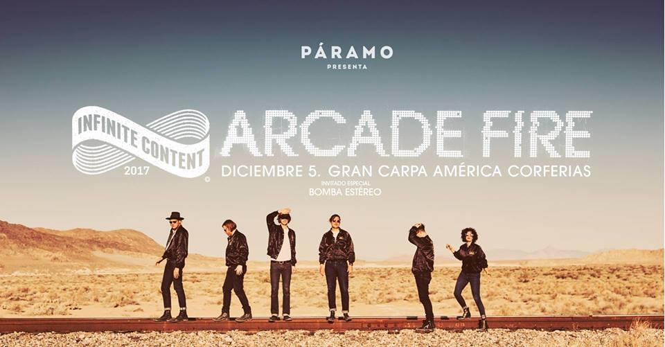 concierto arcade fire colombia