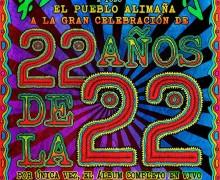 22 años de la 22 1280 almas