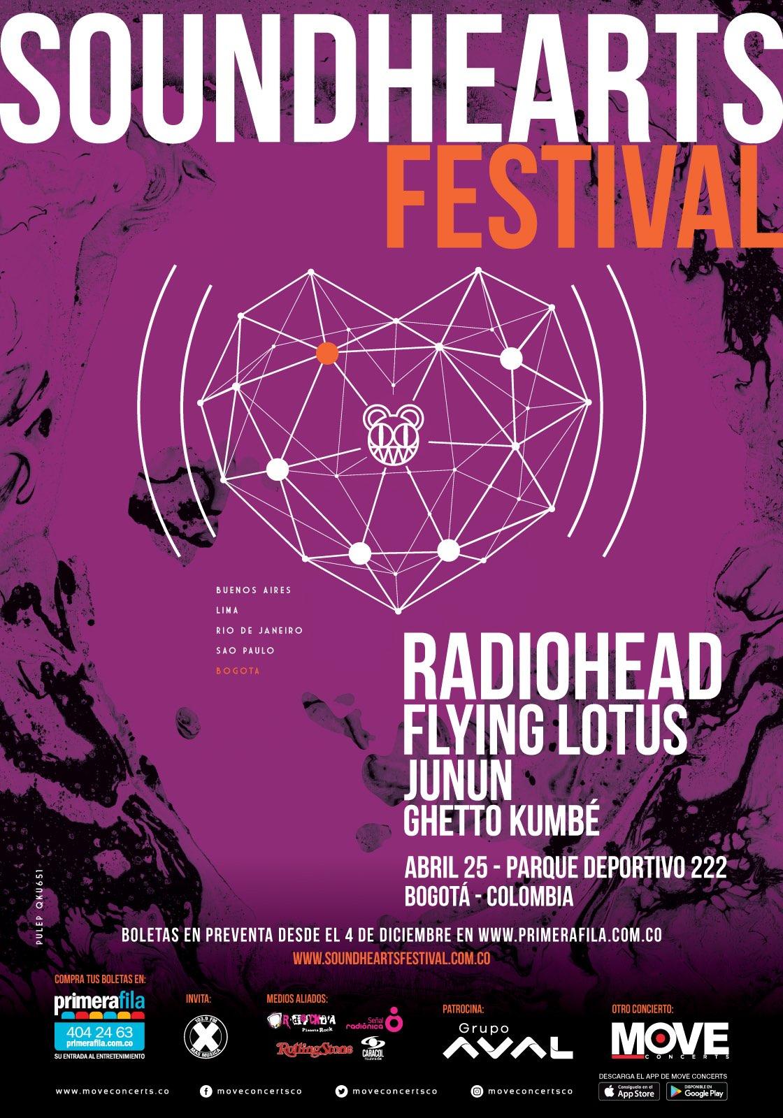 boletas radiohead colombia