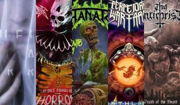 los mejores discos de metal 2018